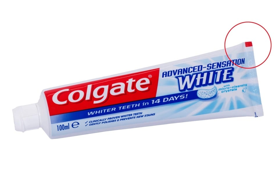 What Do Color Codes On Toothpaste Mean?